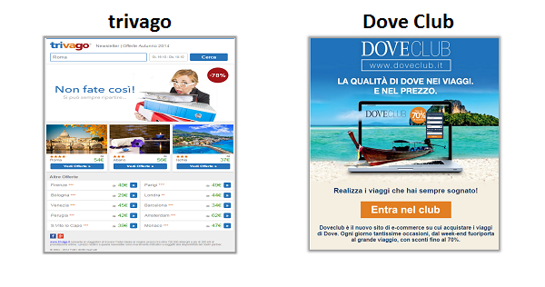 trivago and Dove Club