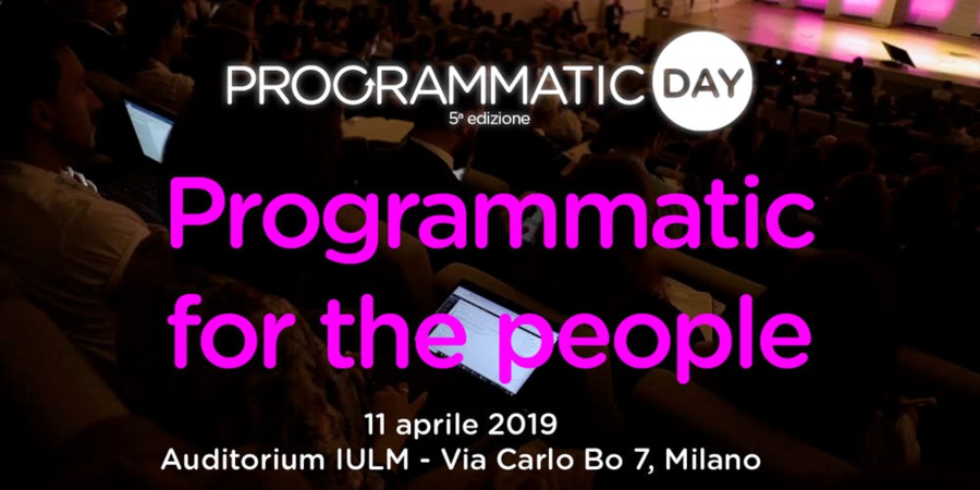 Programmatic Day 2019